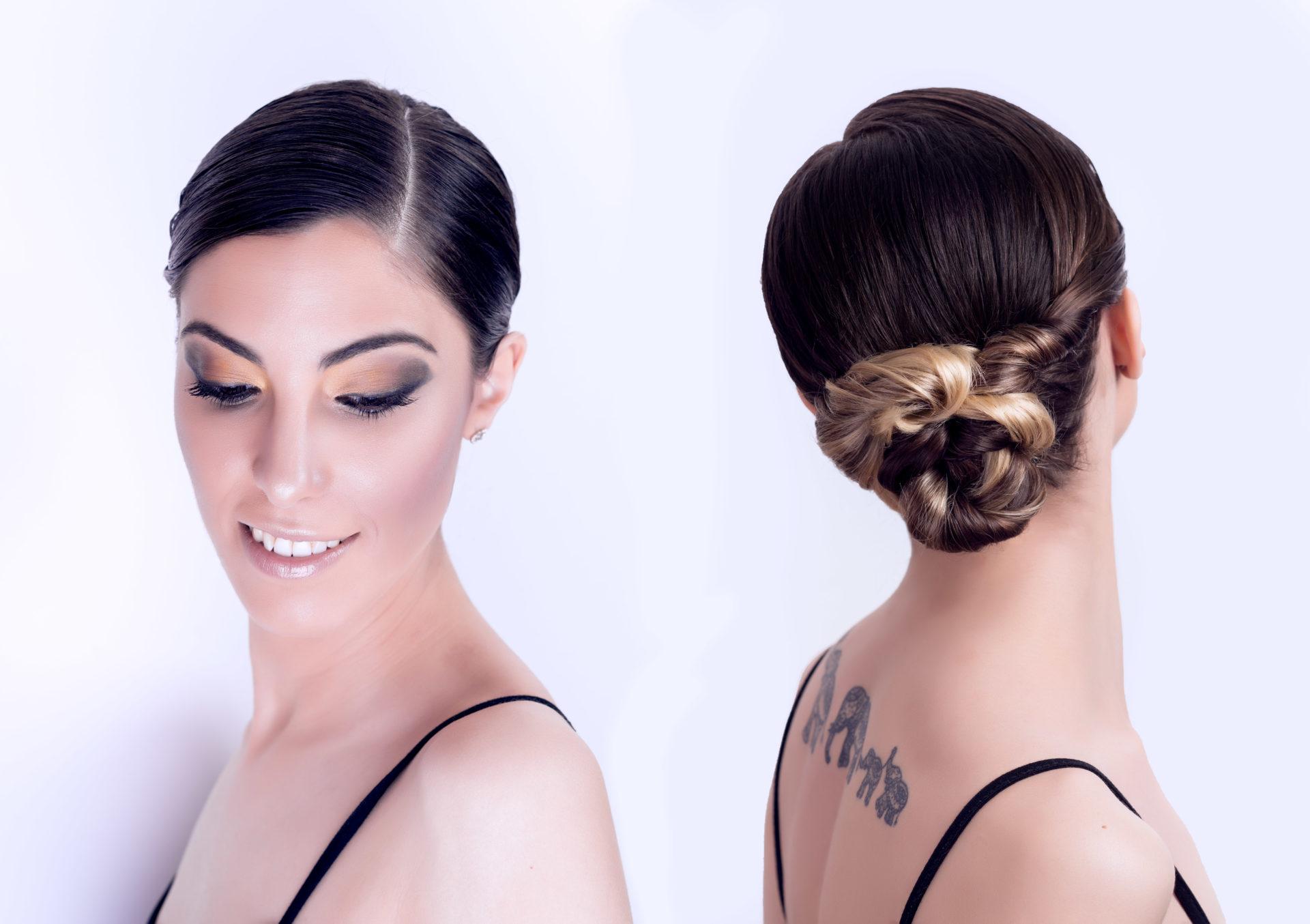 Peinado Recogido Bajo